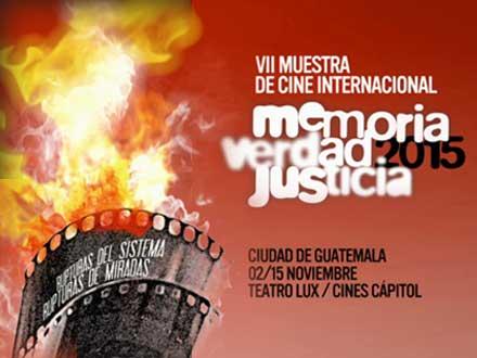 Muestra Internacional de Cine Memoria Verdad Justicia 2015